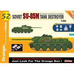 Soviet SU-85M tank destroyer.