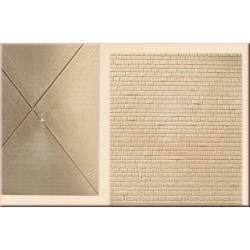 Wall stone sheet. AUHAGEN 48578