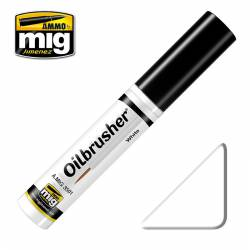 Oilbrusher: white. AMIG 3501