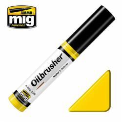 Oilbrusher: yellow.