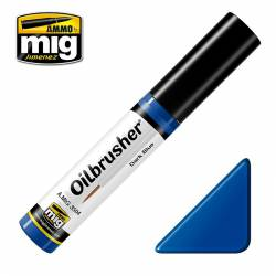 Oilbrusher: dark blue. AMIG 3504