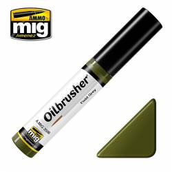 Oilbrusher: field green.
