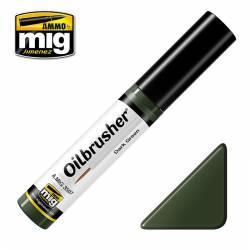 Oilbrusher: dark green. AMIG 3507