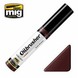 Oilbrusher: dark brown.