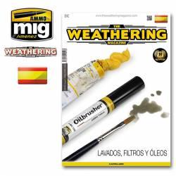 The Weathering Magazine #17: Lavados, filtros y óleos. AMIG 4016
