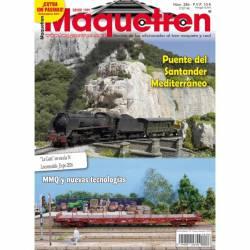 Revista Maquetren, nº 286. Diciembre 2016