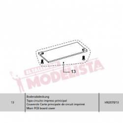Main PCB cover. Series 353/354. HN2070/13