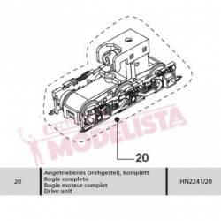 Drive unit for locomotives series 321. ARNOLD HN2241/20