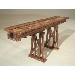 Puente con pilares. HACK BRUCKEN H030