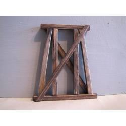 Pilar de madera. HACK BRUCKEN HP65