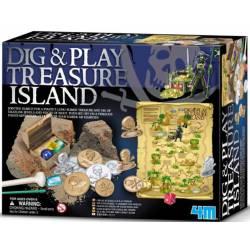 Kit de excavación: Isla del Tesoro. 4M 00-05924