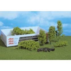 Material para crear vegetación, verde claro. HEKI 1631