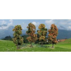 4 árboles de otoño.