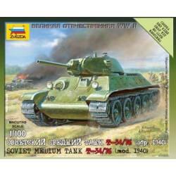T-34/76. ZVEZDA 6101