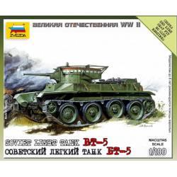 Soviet light tank BT-5. ZVEZDA 6129