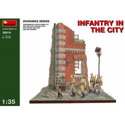 Infantería en la ciudad. MINIART 36014