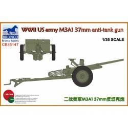 Cañón anticarrro M3A1 37 mm.