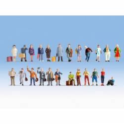 "XL figure set ""travellers"". NOCH 16101"
