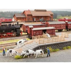 """Scenery set """"cattle transport"""". NOCH 65614"""