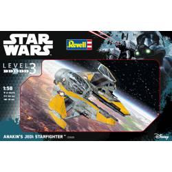 Star Wars: Caza Jedi de Anakin. REVELL 03606