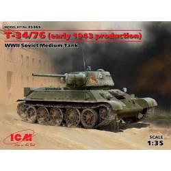 T-34/76, primera versión.