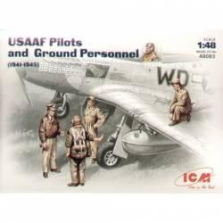 Pilotos y personal de mantenimiento. ICM 48083