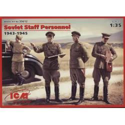 Soviet staff personnel.