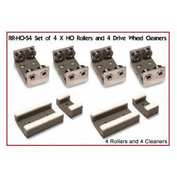 Rollers and wheel cleaners. PROSES RR-H0-04