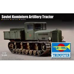 Tractor de artillería Komintern. TRUMPETER 07120