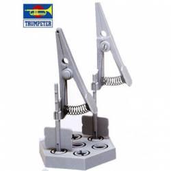 Model clamp.