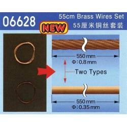 Brass wires set.