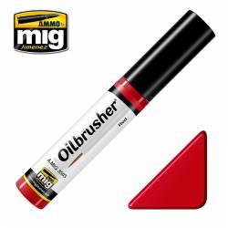 Oilbrusher: rojo.
