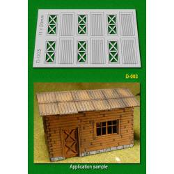 Cottage doors. PROSES D003