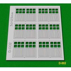 Garage doors. PROSES D002