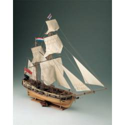 Dutch privateer ketch, 1750. COREL SM16