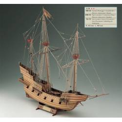 Galleon Veneto. 16th century armed vessel. COREL SM31