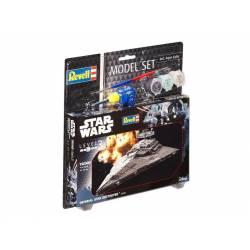 Star Wars: Destructor imperial con pinturas. REVELL 63609