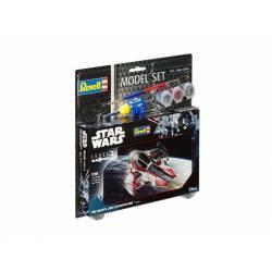 Star Wars: Caza Jedi de Obi-Wan con pinturas. REVELL 63607