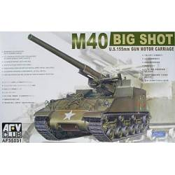 M40 US 150 mm gun motor carriage. AFV CLUB 35031