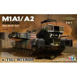 M1A1/A2 Abrams con interiores. RFM 5007