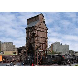 Wood coaling tower. WALTHERS 933-2922