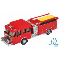 Heavy duty fire truck. WALTHERS 949-13800