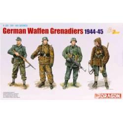 Granaderos alemanes.