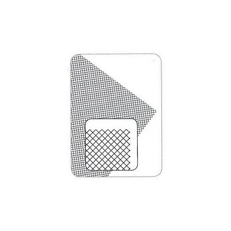 Rejilla de plástico, diagonal. MAQUETT 611-02