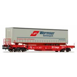 "Plataforma con remolque de ""Wormser"". FLEISCHMANN 845346"