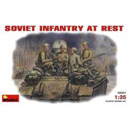 Soviet infantry at rest.