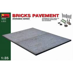 Bricks pavement. MINIART 36048