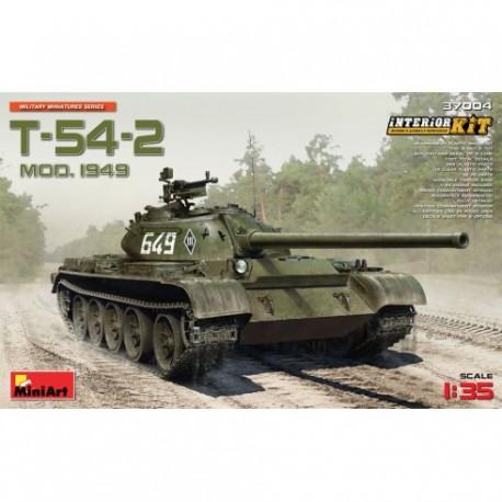T-54-2 Mod.1949. MINIART 37004