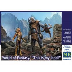 """Mundo de fantasía: """"Esta es mi tierra"""". MASTER BOX 24011"""