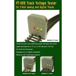 Comprobador de corriente para vías, AC. PROSES VT-002